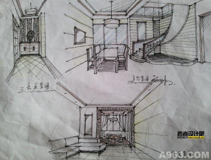 廖珍珠手绘 - 家装设计