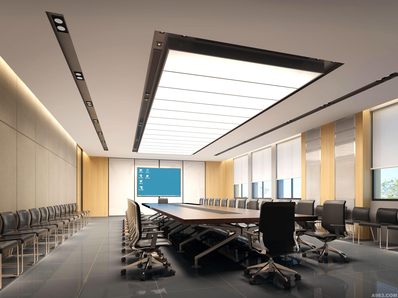 广州风神物流办公楼 - 办公空间 - 东莞室内设计网__.