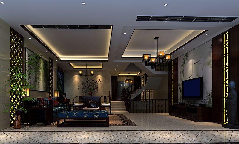 武汉中国院子别墅-别墅豪宅-林永峰设计作品