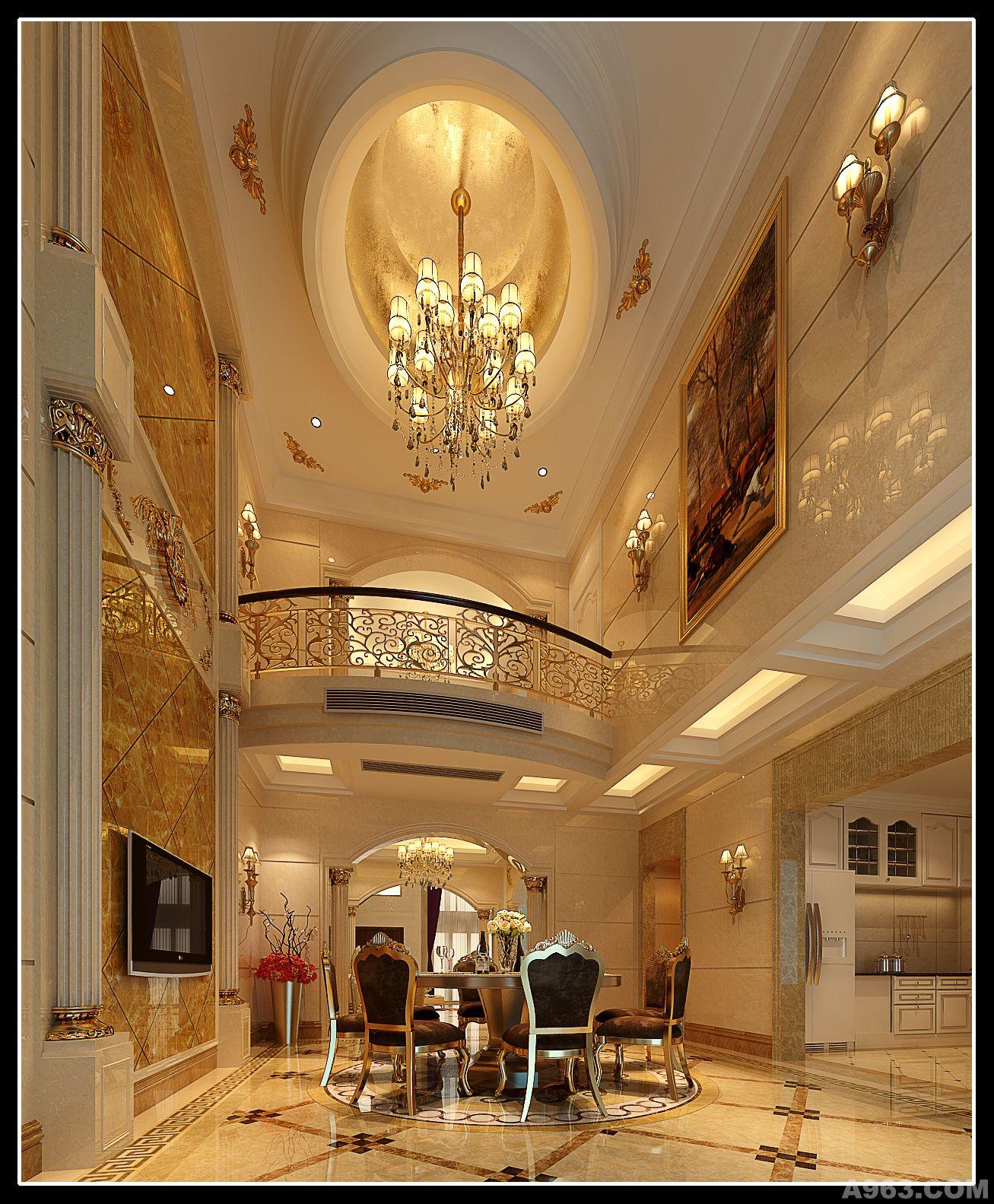 欧式酒店全日餐厅