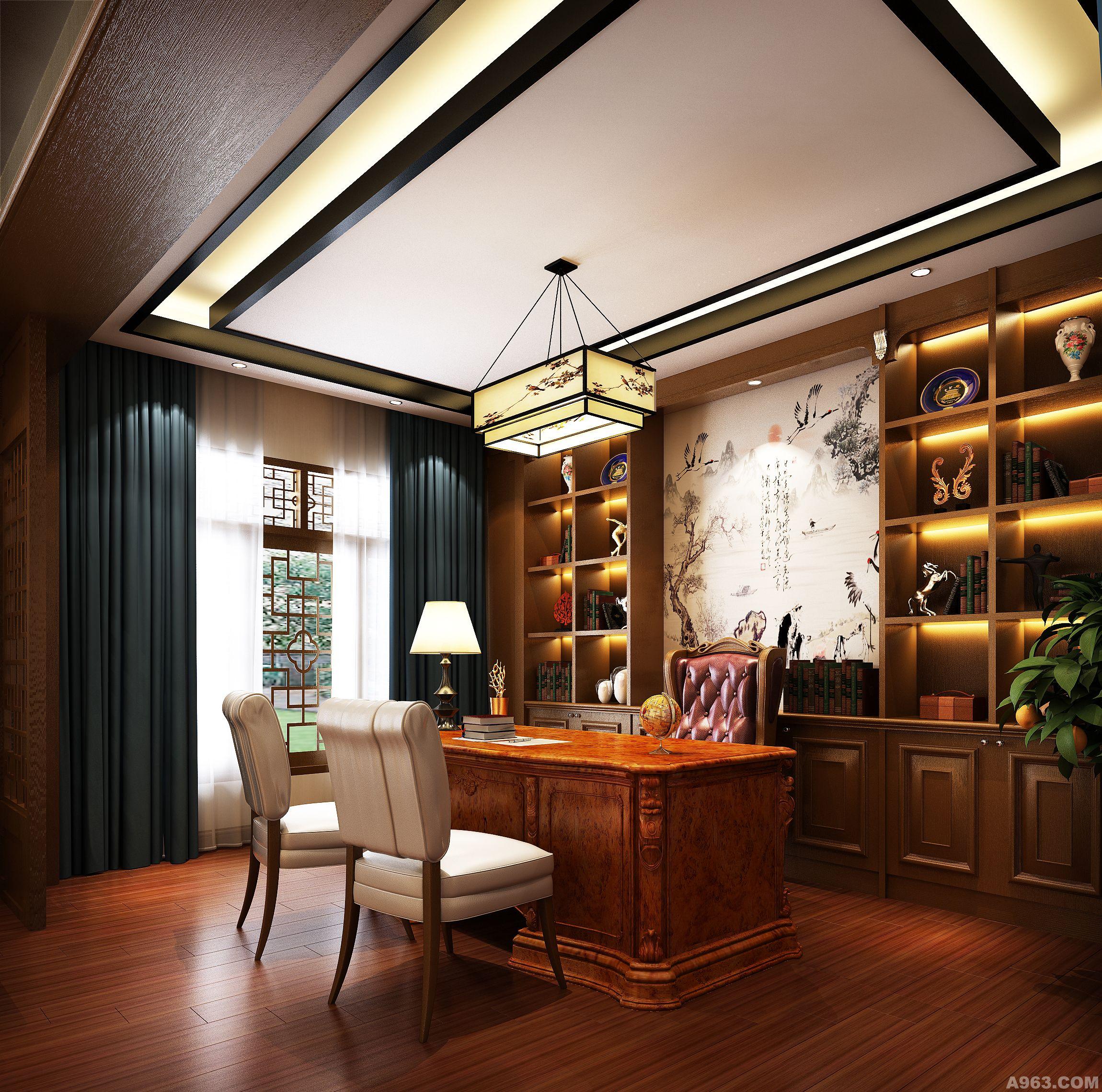 从外观到室内设计,设计者采用灰派的色调与古江南的元素结合来