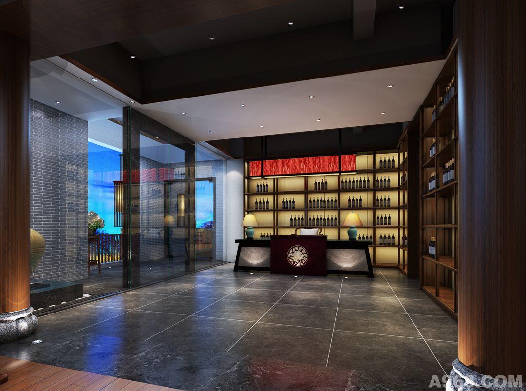 项目面积:600平方米 设计风格:LOFT/现代中式 装饰材料: 灰砖、粗木饰面、青石板、麻质墙纸… 设计说明: 本项目坐落于东莞南城的一个茶庄会所,共有3间包房,书法家书房及4个娱乐室,包括接待大厅及茶室设计,空间融合新的LOFT感和现代东方元素结合,在室内造型水景及一小片竹林作为点缀,把室内外很好连在一起,把中式美升华。 整体空间会清新淡雅,让时间轻轻地放慢脚步,感受惬意!