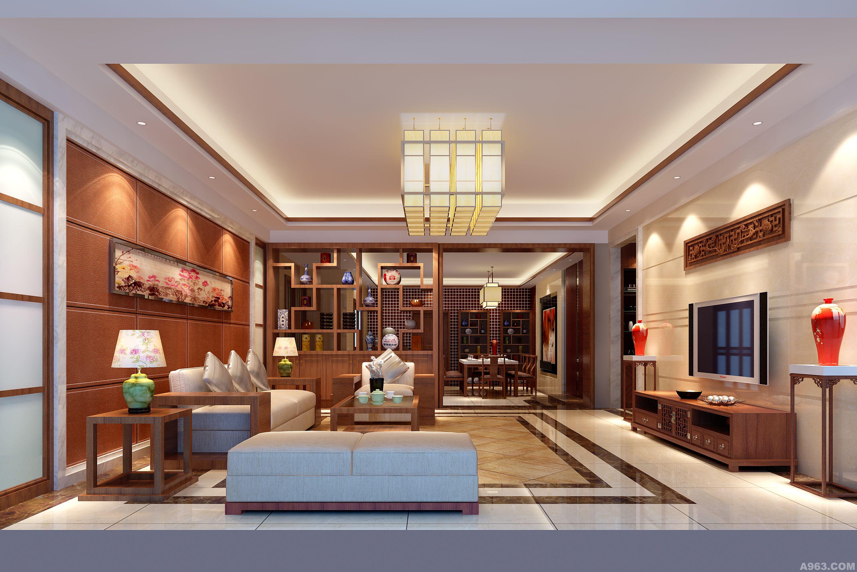 新中式样板房设计前景与末来市场浅析