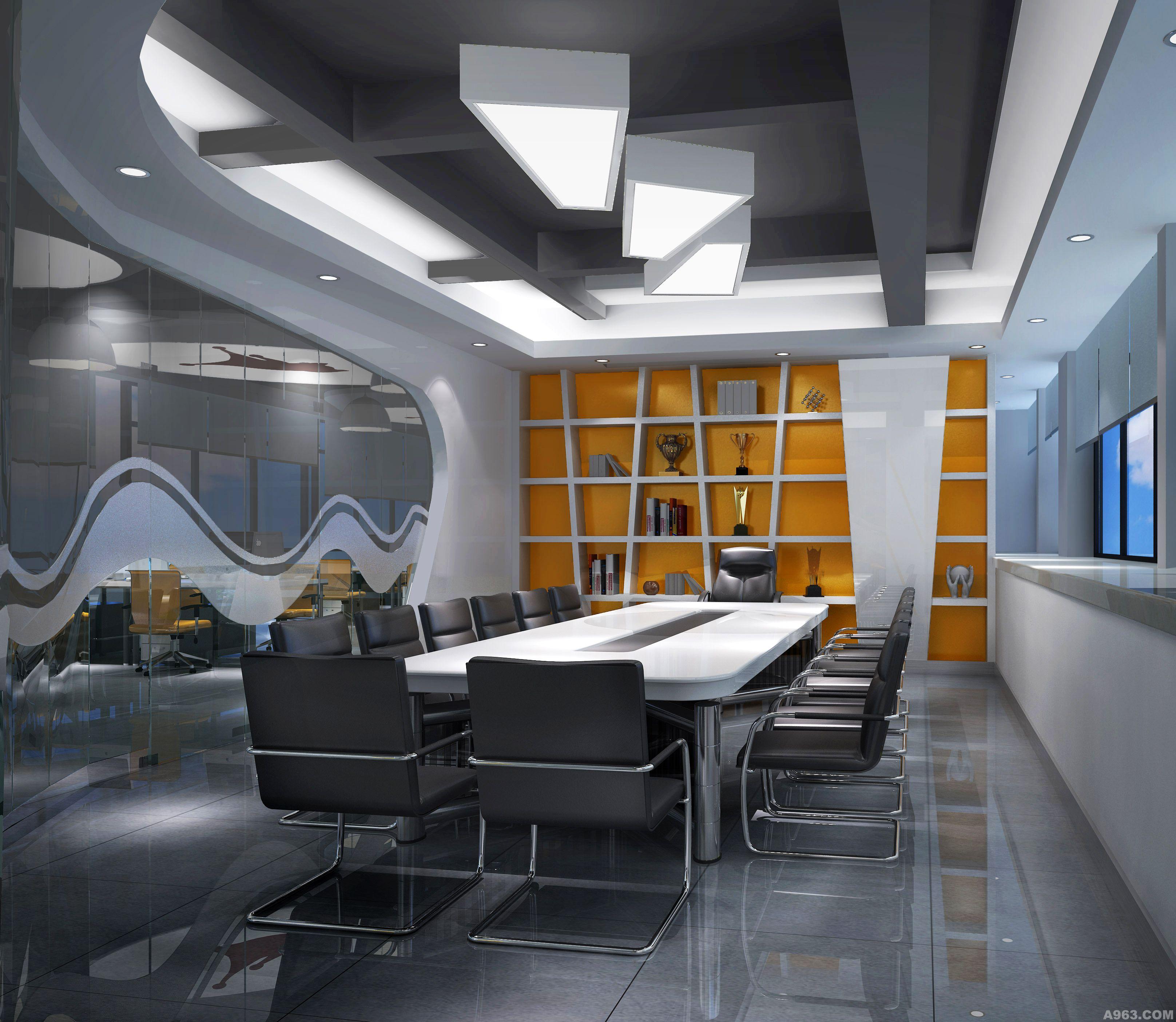 现代- 商业空间 - 东莞室内设计网_东莞室内设计装修