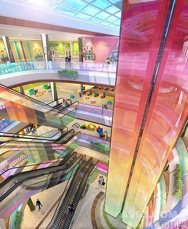 原创乡市综合体设计成效图充斥艺术魅力